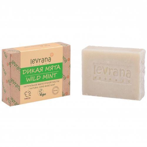 Купить Levrana Натуральное мыло ручной работы Мята , 100 г (Levrana, Для тела)