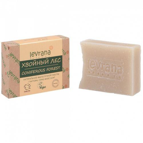 Купить Levrana Натуральное мыло ручной работы Хвойный лес , 100 г (Levrana, Для тела)