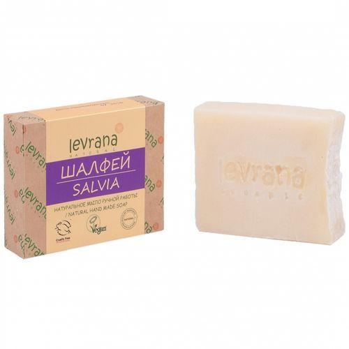 Купить Levrana Натуральное мыло ручной работы Шалфей , 100 г (Levrana, Для тела)