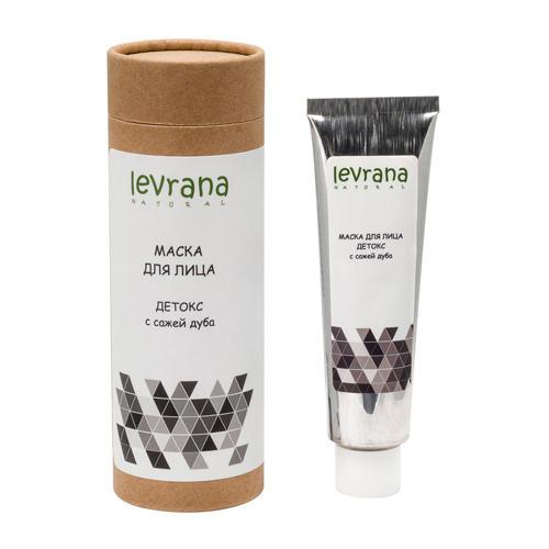 Купить Levrana Маска для лица Детокс с сажей японского дуба, 50 мл (Levrana, Для лица)