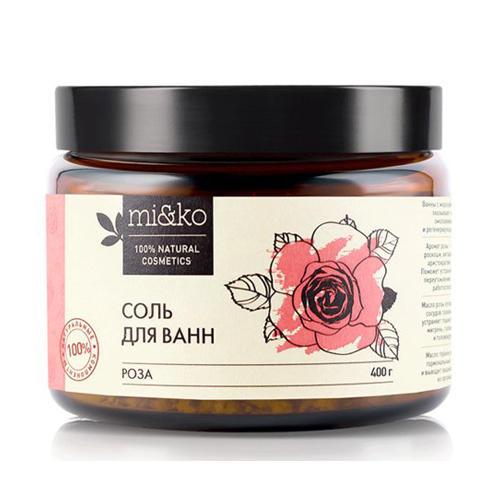 Купить Mi&Ko Соль для ванн Роза , 400 г (Mi&Ko, Для тела)