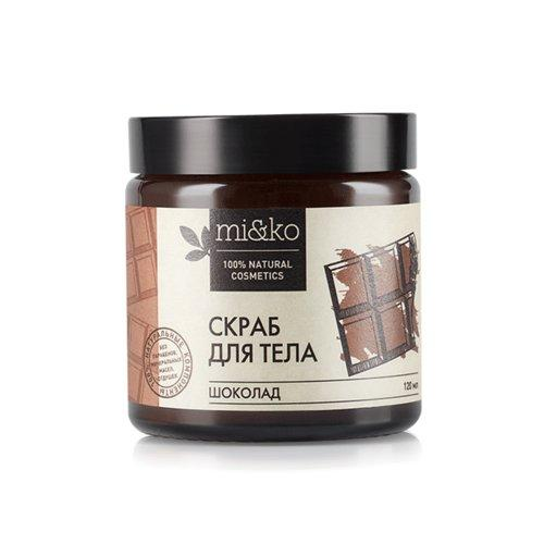 Купить Mi&Ko Антицеллюлитный скраб для тела Шоколад , 120 мл (Mi&Ko, Для тела)