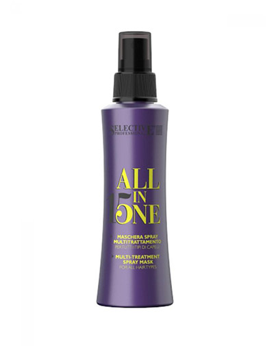 Купить Selective Маска-спрей 15 в 1 для всех типов волос All In One 150 мл (Selective, All In One)