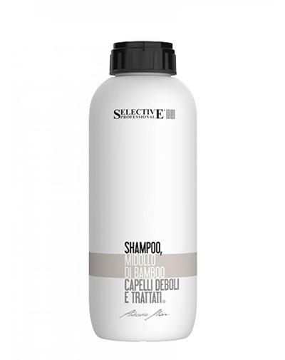 Купить Selective Шампунь с вытяжкой из бамбука для химически обработанных волос Midollo 1000 мл (Selective, Artistic Flair Line)