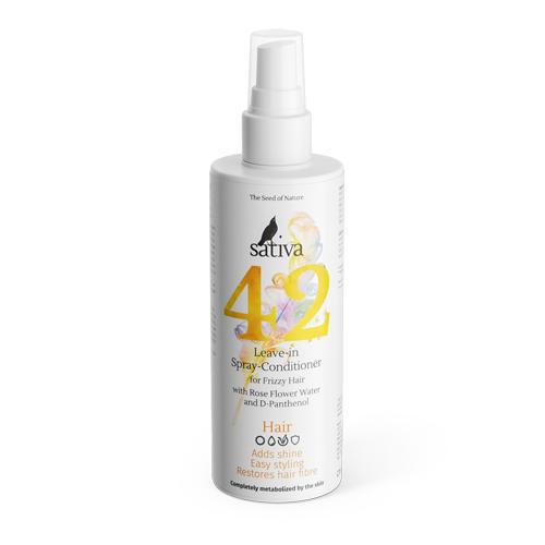Купить Sativa Спрей-кондиционер №42 для непослушных волос 150 мл (Sativa, Hair)