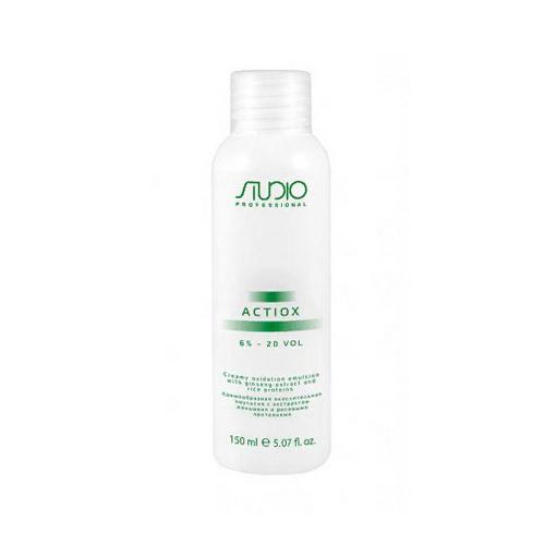 цена на Kapous Professional Кремообразная окислительная эмульсия с экстрактом женьшеня и рисовыми протеинами 6%, 150 мл (Kapous Professional, Kapous Studio)