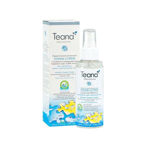Купить Teana Энергетический витаминный тоник-спрей для сухой, чувствительной и нормальной кожи 150 мл (Teana, Пятое чувство)