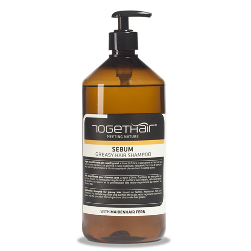 Купить Togethair Нормализующий шампунь для жирной кожи головы и жирных волос 1000 мл (Togethair, Scalp Treatments)