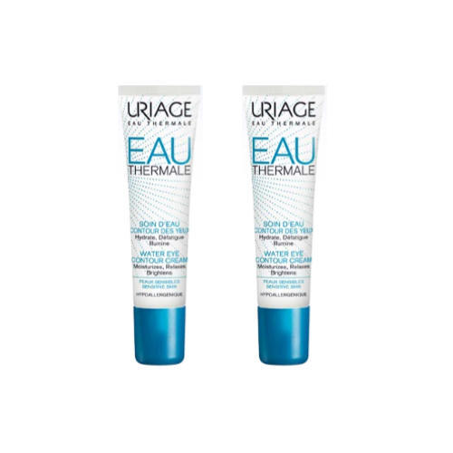 Купить Uriage Увлажняющий крем для контура глаз, 2х15 мл (Uriage, Eau thermale)