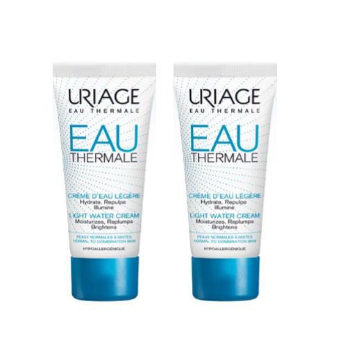 Купить Uriage Увлажняющий легкий крем, 2х40 мл (Uriage, Eau thermale)