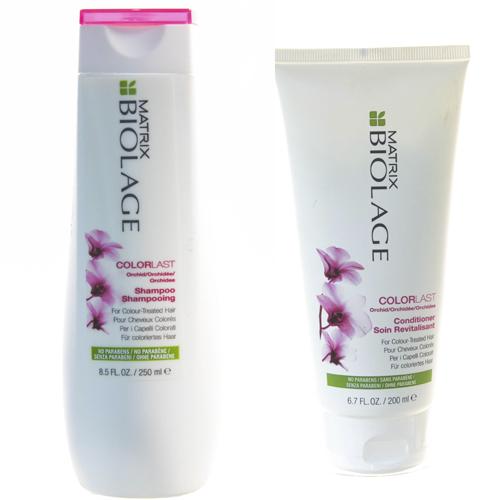 Купить Matrix Комплект Биолаж Колорласт Шампунь для окрашенных волос 250 мл + Кондиционер для окрашенных волос 200 мл (Matrix, Biolage)