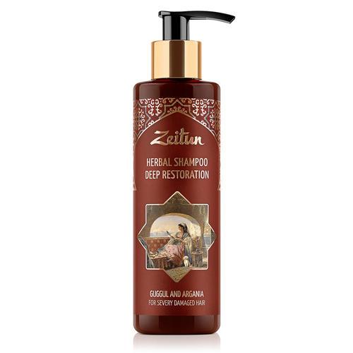 Купить Zeitun Фито-шампунь Глубоко восстанавливающий , для сильно поврежденных волос, 200мл (Zeitun, Для волос)