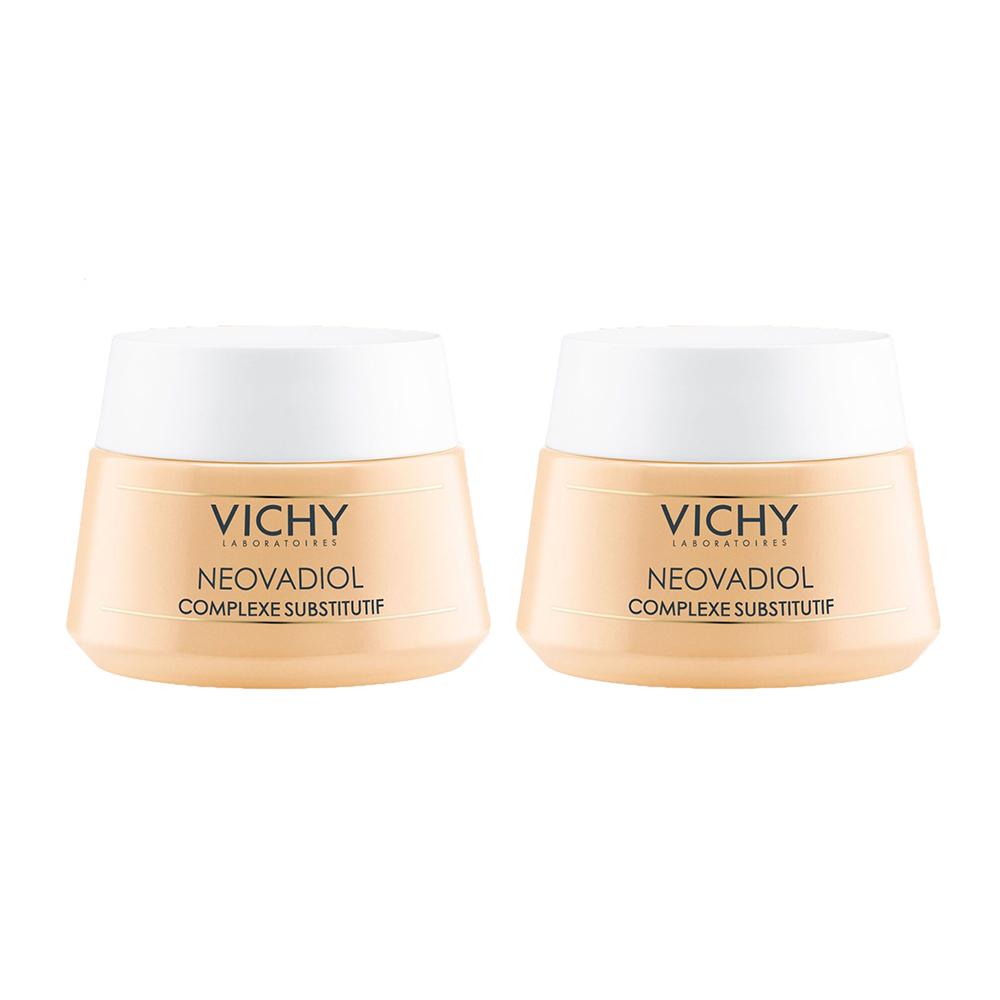 Купить Vichy Комплект Неовадиол Компенсирующий комплекс для нормальной и комбинированной кожи, 50 мл*2 (Vichy, Neovadiol)