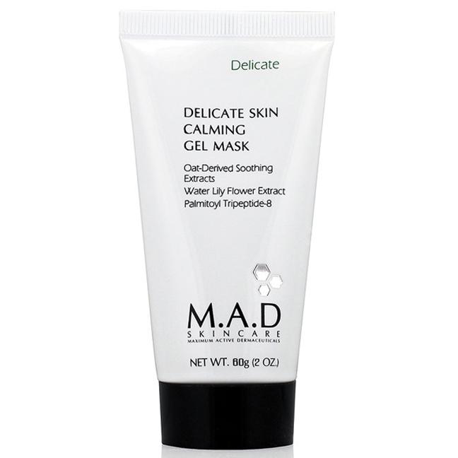 Купить M.A.D. Успокаивающая гелевая маска для ухода за чувствительной кожей 60 гр (M.A.D., Delicate)