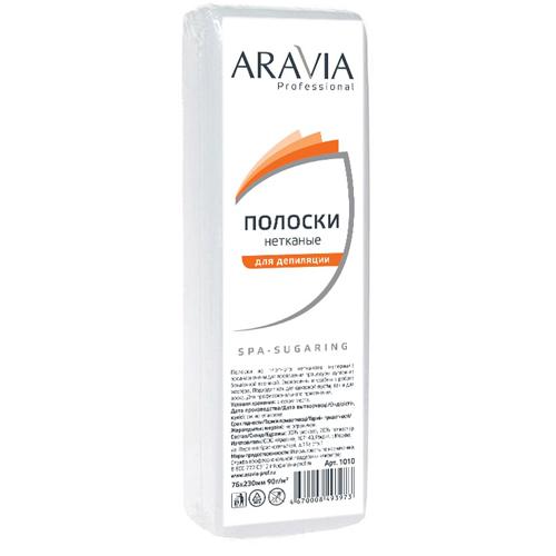 Купить Aravia professional Полоски нетканые для депиляции, 76х230 мм, 100 шт (Aravia professional, Aravia Professional)
