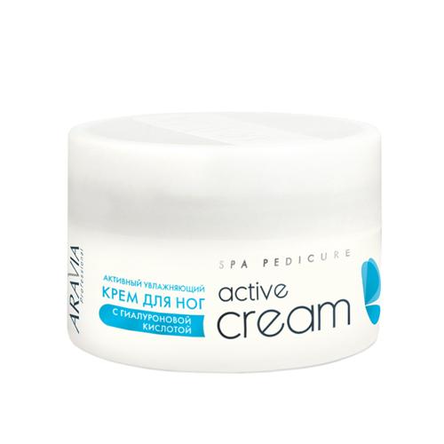 Купить Aravia Professional Активный увлажняющий крем с гиалуроновой кислотой Active Cream, 150 мл (Aravia Professional)