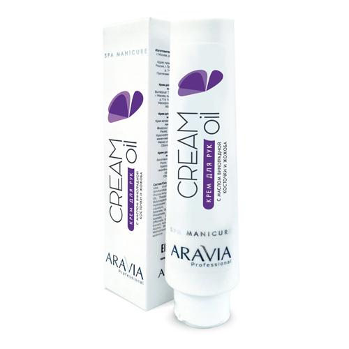 Купить Aravia professional Крем для рук Cream Oil с маслом виноградной косточки и жожоба, 100 мл (Aravia professional, Aravia Professional)