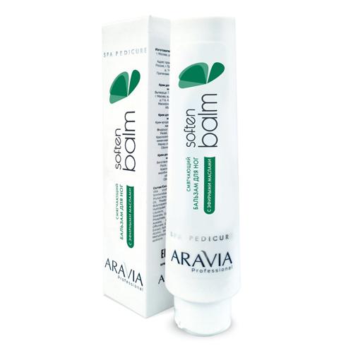 Купить Aravia professional Смягчающий бальзам для ног с эфирными маслами Soften Balm, 100 мл (Aravia professional, Aravia Professional)