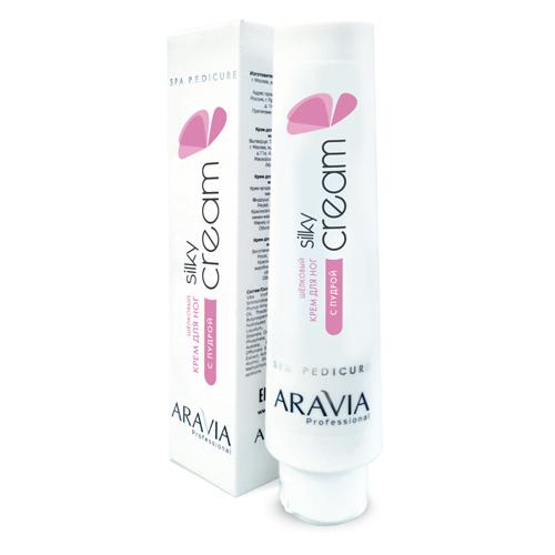 Купить Aravia Professional Шёлковый крем для ног с пудрой Silky Cream, 100 мл (Aravia Professional)