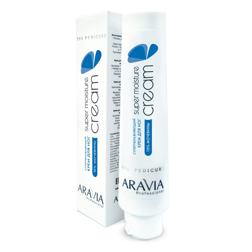 Купить Aravia professional Суперувлажняющий крем для ног с мочевиной Super Moisture, 100 мл (Aravia professional, Aravia Professional)