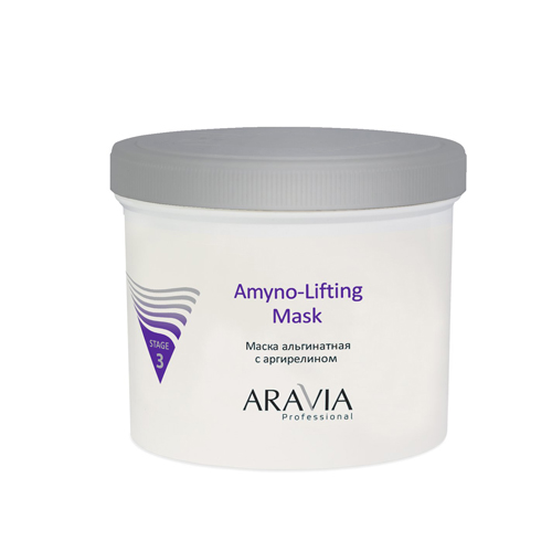 Купить Aravia Professional Маска альгинатная с аргирелином Amyno-Lifting, 550 мл (Aravia Professional)