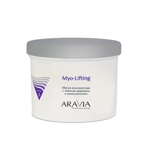 Купить Aravia Professional Маска альгинатная с чайным деревом и миоксинолом Myo-Lifting, 550 мл (Aravia Professional)