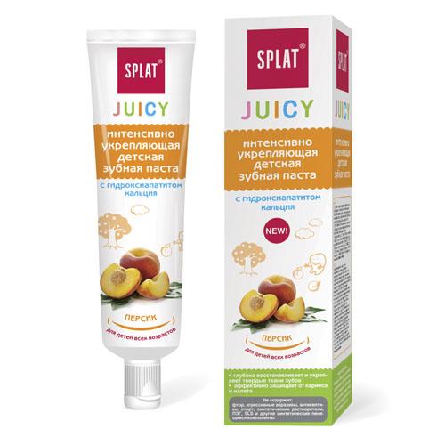 Купить Splat Детская зубная паста Персик, 35 мл (Splat, Juicy)