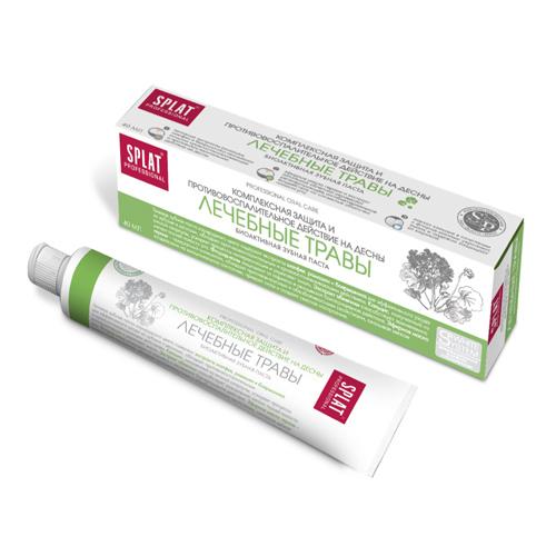 Купить Splat Зубная паста Лечебные травы компакт, 40 мл (Splat, Professional)