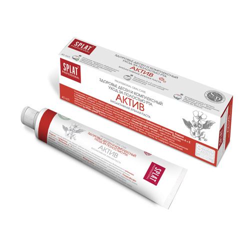 Купить Splat Зубная паста Актив компакт, 40 мл (Splat, Professional)