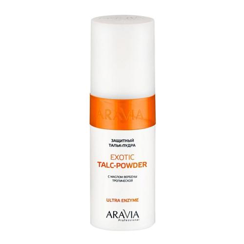 Купить Aravia Professional Защитный тальк-пудра с экстрактом вербены тропической Exotic Talc-Powder, 150 мл (Aravia Professional)