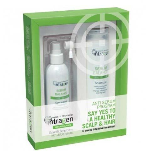 Revlon Professional Набор против жирности волос (шампунь 250 мл + концентрат 125 мл) (Revlon Professional, Intragen) недорого