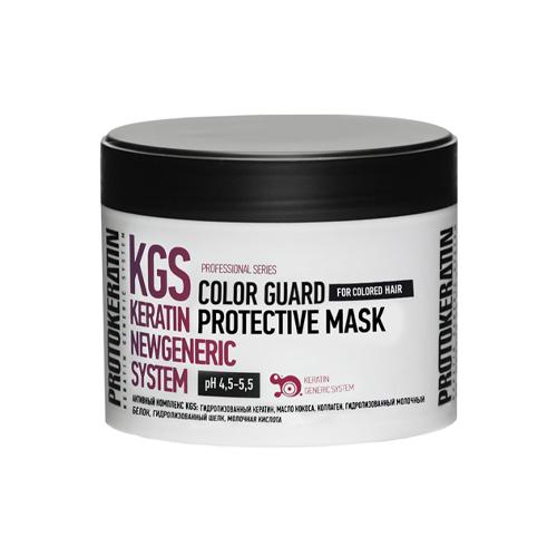 Купить Protokeratin Маска-глосс для интенсивной защиты цвета окрашенных волос 250 мл (Protokeratin, Салонные уходы)