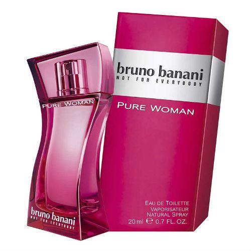 Bruno Banani Вода туалетная Pure Woman 20 мл (Bruno Banani, Pure woman) woman s best 20 мл bruno banani woman s best 20 мл