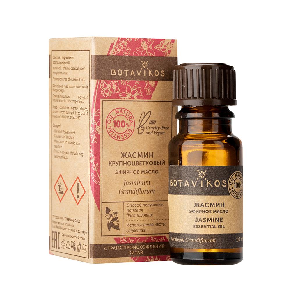 Купить Botavikos Эфирное масло 100% Жасмин крупноцветковый, 10 мл (Botavikos, Эфирные масла)