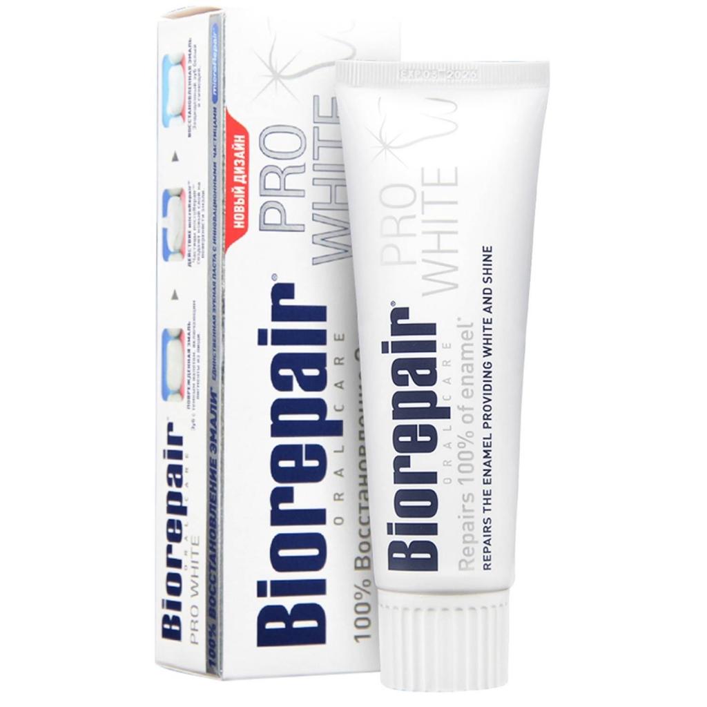 Купить Biorepair Зубная паста Pro White Про Вайт, 75 мл (Biorepair, Отбеливание и лечение)
