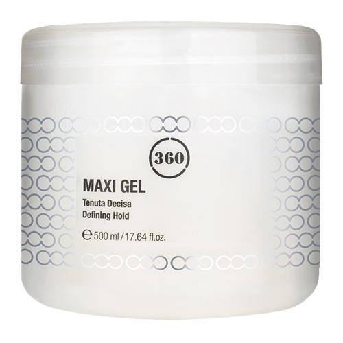 Купить 360 Гель для волос с сильной фиксацией Maxi Gel, 500 мл (360, Стайлинг)