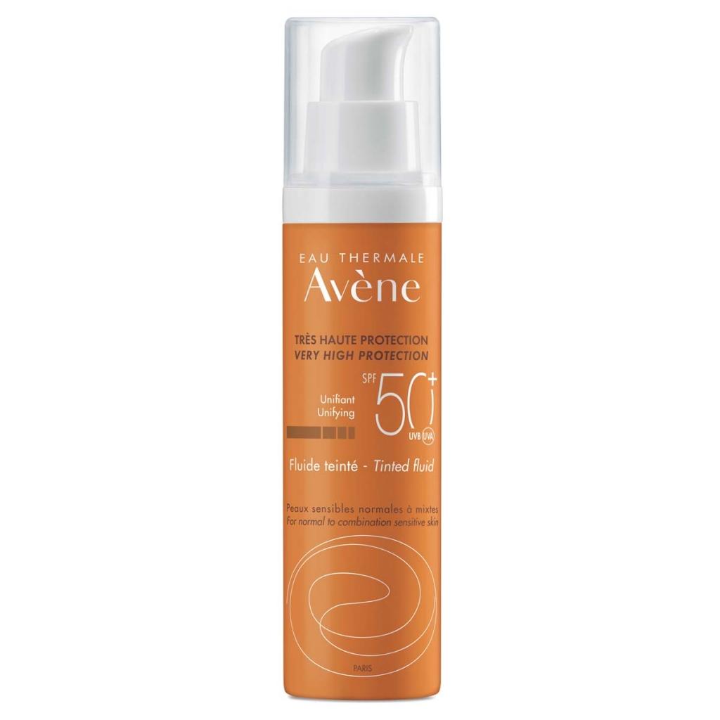 Avene Солнцезащитный флюид с тонирующим эффектом SPF 50, 50 мл (Avene, Suncare)  - Купить
