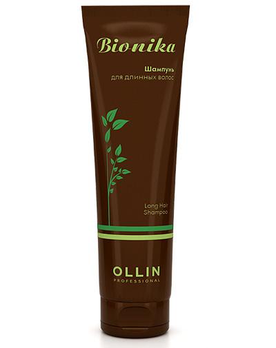 заказать Оллин Профессионал Шампунь для длинных волос Long Hair Shampoo 250 мл (Ollin Professional, Уход за волосами, BioNika)