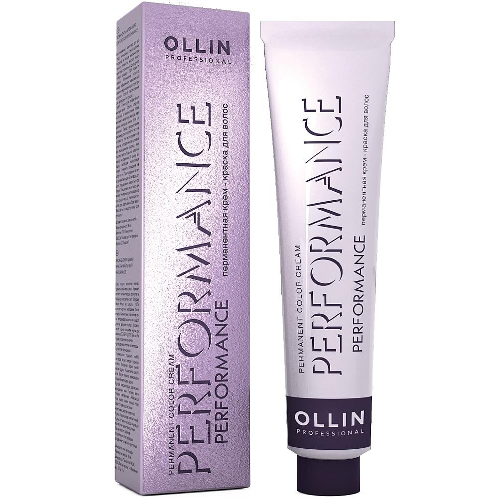 Купить Ollin Professional Перманентная стойкая крем-краска для волос, 60 мл - 11/7 специальный блондин коричневый (Ollin Professional, Окрашивание волос)