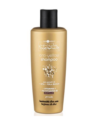 Купить Hair Company Professional Inimitable Blond Шампунь для волос блокирующий нежелательный жёлтый оттенок, 250 мл (Hair Company Professional, Inimitable Color)