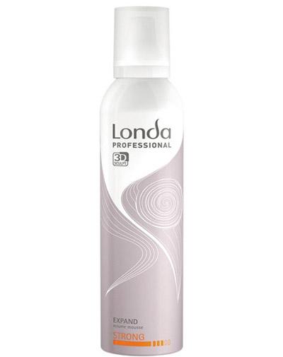 Лонда Профессиональ Пена для укладки волос сильной фиксации EXPAND 250 мл (Londa Professional, Укладка и стайлинг, Объем)