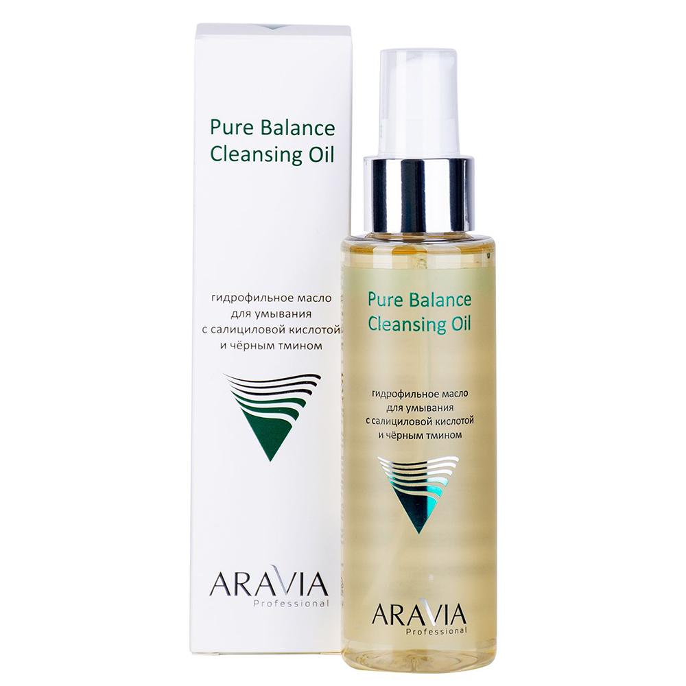 Купить Aravia professional Гидрофильное масло для умывания с салициловой кислотой и чёрным тмином Pure Balance Cleansing Oil, 110 мл (Aravia professional, Aravia Professional)