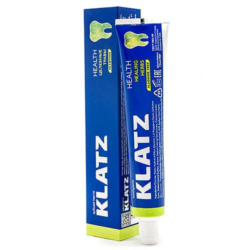 Купить Klatz Зубная паста Целебные травы без фтора, 75 мл (Klatz, Health)