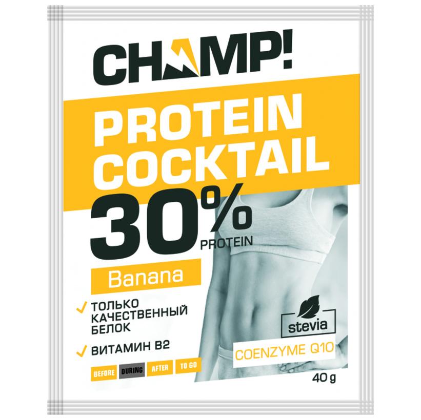 Купить Леовит Коктейль Champ протеиновый банановый, 40 г (Леовит, )