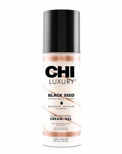 Купить Chi Крем-гель Luxury с маслом семян черного тмина для укладки кудрявых волос, 147 мл (Chi, Luxury)