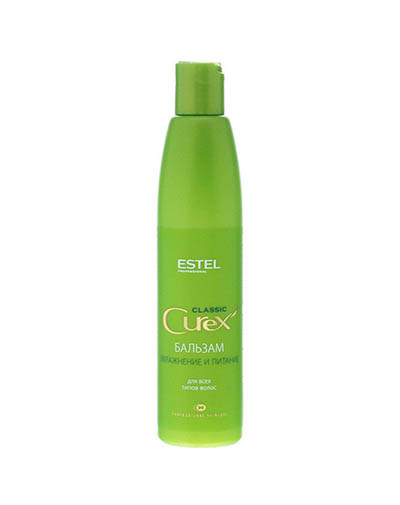 """заказать Estel Бальзам """"Увлажнения и питание"""" для всех типов волос, 250 мл (Curex, Classic)"""