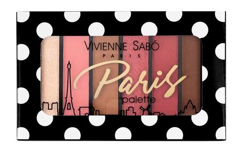 Купить Vivienne Sabo Палетка теней для век мини Eyeshadow Palette mini Paris - 04 Montmartre (Vivienne Sabo, Глаза)