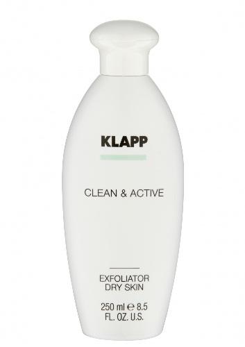 Купить Klapp Эксфолиатор для сухой кожи, 250 мл (Klapp, Clean & active)