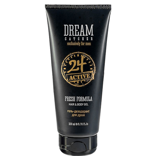 FRESH FORMULA 24 ACTIVE HAIR&BODY GEL гель- дезодорант для душа, 200 мл