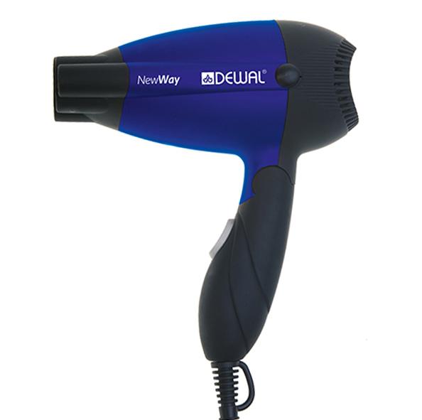 Купить Dewal Pro Фен дорожный складной 1000 Вт New Way DEWAL 03-5512 Blue (Dewal Pro, Фены)